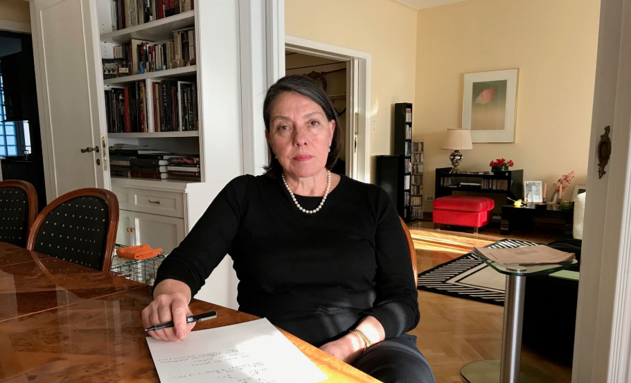 Άρθρο και συνέντευξη της Μιράντας Ξαφά στο RTBF
