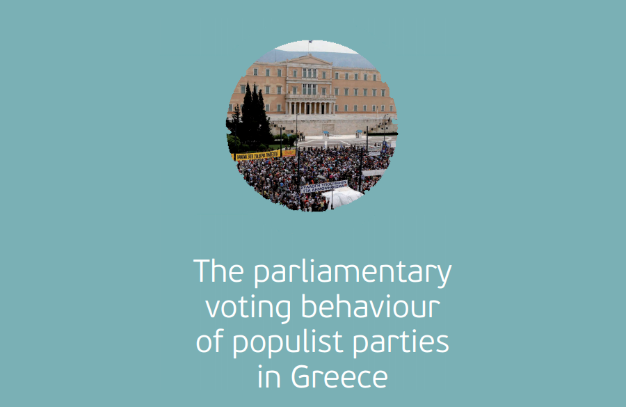 The parliamentary voting behaviour of populist parties in Greece
